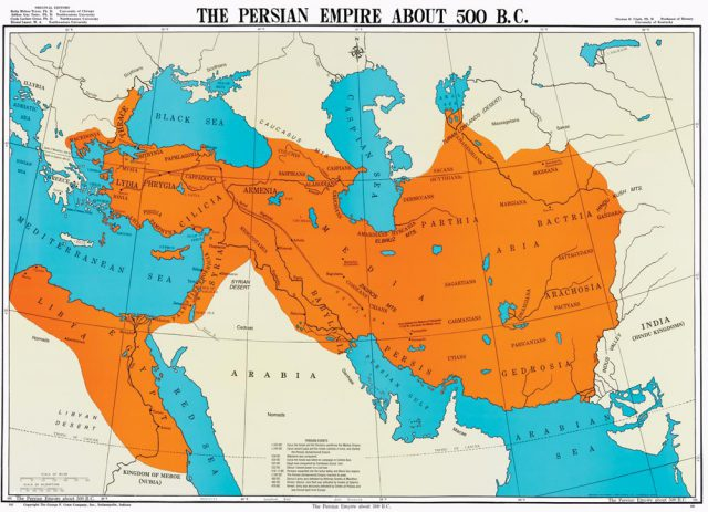 Ancient Persia Map