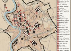 Ancient rome city map from pinterest 3