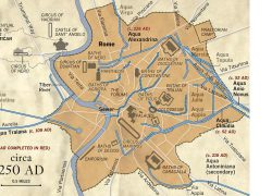 Ancient rome city map from pinterest 8