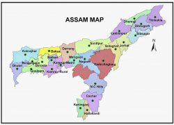 Assam Map: Assam map from prntr 1