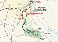 Battle Of Fredericksburg Map: Battle of fredericksburg map from nps 1