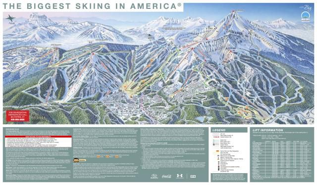 Big Sky Trail Map