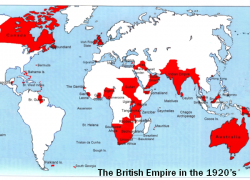 British Empire Map: British empire map from en 1
