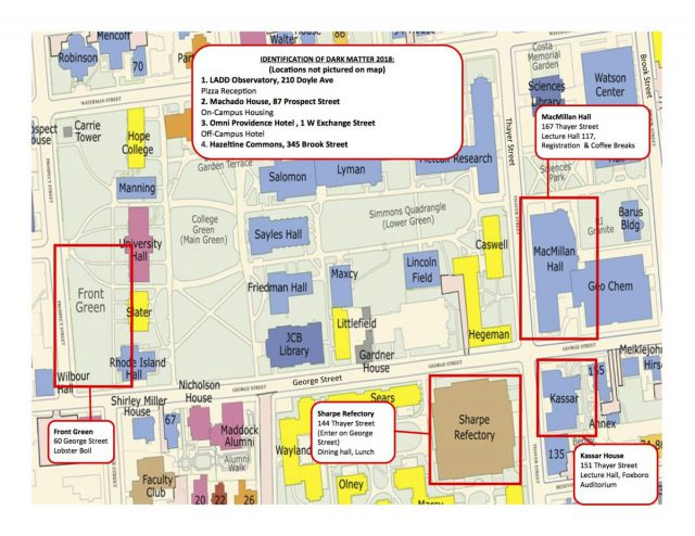 Brown university map from brown 1