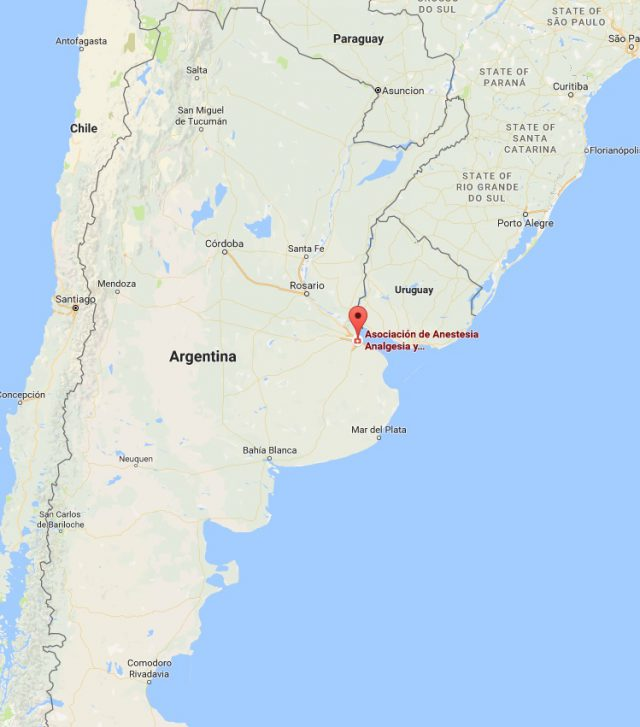 Buenos Aires On World Map