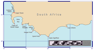 Cape Of Good Hope Map