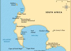 Cape Of Good Hope On World Map: Cape of good hope on world map from kids 3