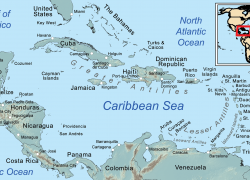 Caribbean Sea Map: Caribbean sea map from tripsavvy 1