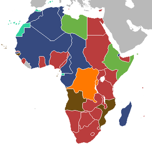 Colonial Africa Map