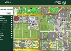 Colorado State University Map: Colorado state university map from campustechnology 1