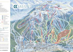 Copper Mountain Trail Map: Copper mountain trail map from coppercolorado 1