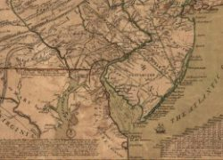 Delaware Colony Map: Delaware colony map from philadelphiaencyclopedia 1