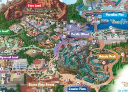 Disney California Adventure Map 2020: Disney california adventure map 2020 from pinterest 2