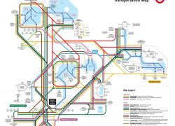 Disney Monorail Map: Disney monorail map from wdwprepschool 1