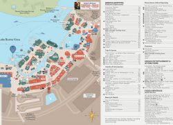 Disney Springs Map: Disney springs map from wdwinfo 2