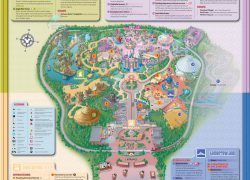 Disneyland Hong Kong Map: Disneyland hong kong map from chinatouristmaps 1