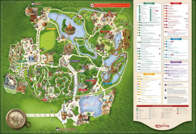 Efteling map from aegtte 1