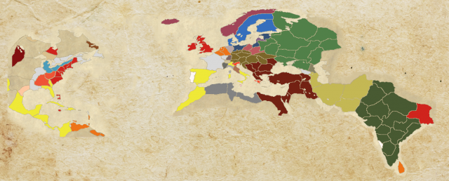 Empire Total War Map