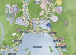 Epcot map 2020 from disneyfoodblog 10
