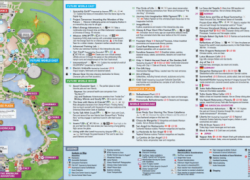 Epcot map 2020 from magicguides 9