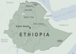 Ethiopia Map: Ethiopia map from wwwnc 1