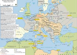 Europe Ww2 Map: Europe ww2 map from emersonkent 2