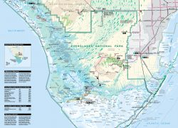 Everglades National Park Map: Everglades national park map from npplan 2