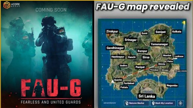 Faug game map from youtube 1
