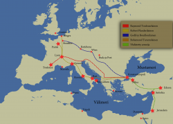 First crusade map from commons 5