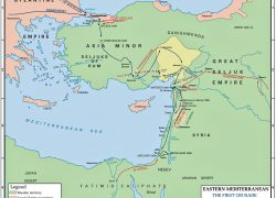 First crusade map from emersonkent 4