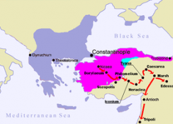First crusade map from en 7