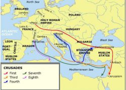 First crusade map from pinterest 9