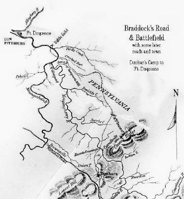 Fort Duquesne Map