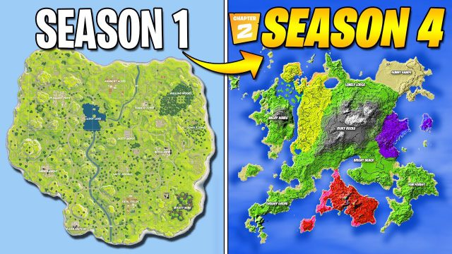 Fortnite Map Season 4 Chapter 2