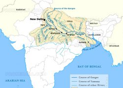 Ganges river map from prokerala 10