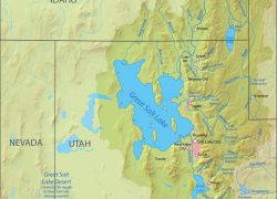 Great Salt Lake On Map: Great salt lake on map from commons 2