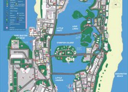 Gta Vice City Map: Gta vice city map from pinterest 1