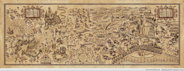 Harry Potter Map