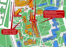 Harvard campus map from hls 7