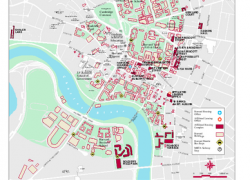 Harvard campus map from mappery 10