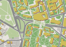 Harvard campus map from pinterest 9