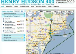 Henry hudson route map from techcrunch 8
