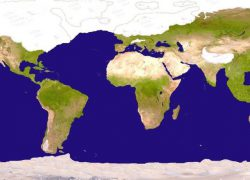 Ice Age World Map: Ice age world map from reddit 1