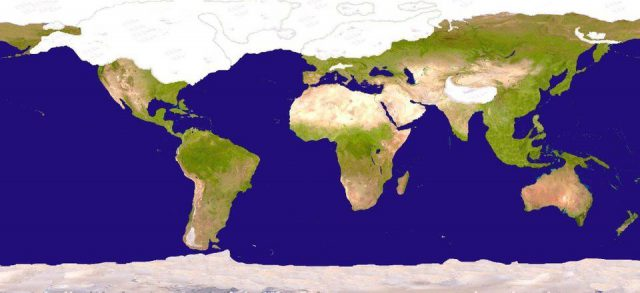 Ice age world map from reddit 1