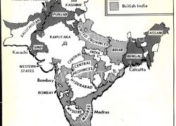 India Map Before 1947: India map before 1947 from columbia 1