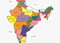 India map hd from clipartkey 2