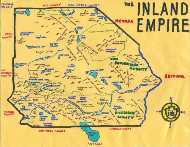 Inland empire map from pinterest 1