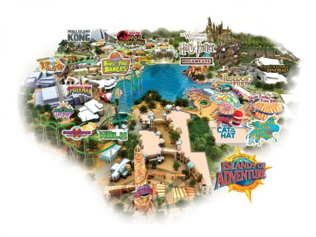 Islands of adventure map 2020 from magicguides 2
