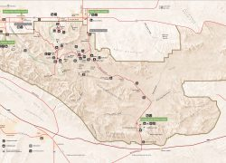 Joshua Tree National Park Map: Joshua tree national park map from npmaps 2
