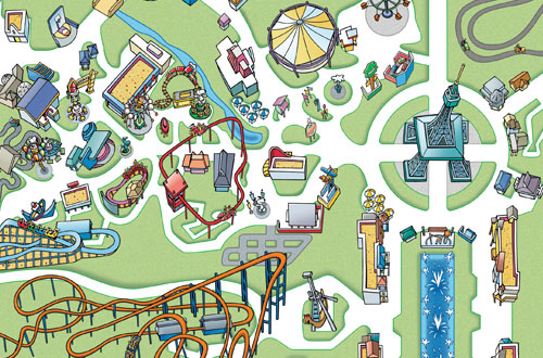 Kings Dominion Map 2020